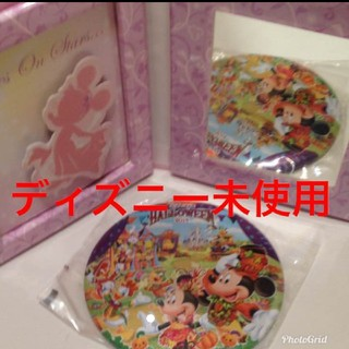 Disney - ディズニー限定缶バッチとミラー定価1203円