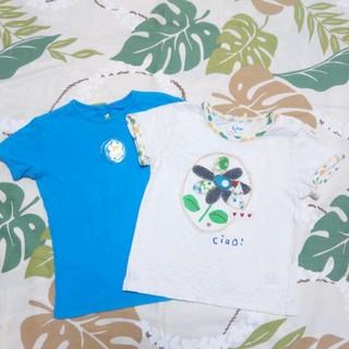 ユッピー(Youpi!)の90 カットソー 2枚セット(Tシャツ/カットソー)