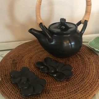 ジェンガラ(Jenggala)の未使用 ジェンガラ 急須と箸置きセット(食器)
