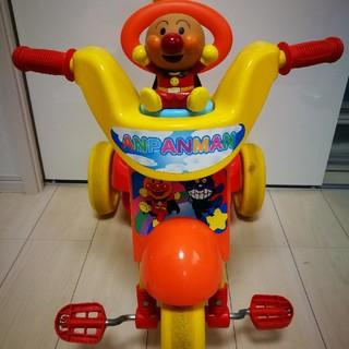 アンパンマン(アンパンマン)のアンパンマン 手押しハンドル付き三輪車(三輪車)