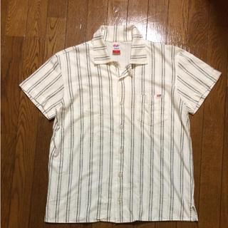 フィフティーファイブディーエスエル(55DSL)の美品 女性の方にも ディーゼル 55DSL これからの季節におススメ 開襟シャツ(シャツ)