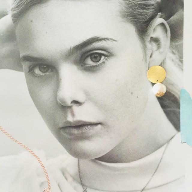 ちゃんぴ様専用♡ゴールドプレートノンホールピアス ハンドメイドのアクセサリー(ピアス)の商品写真