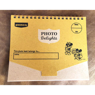 ディズニー(Disney)のDisney × penco スクラップフォトアルバム(アルバム)