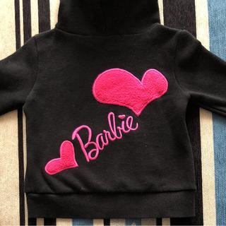 スパイガール(SPYGIRL)のBarbieのロゴがcuteなパーカー(Tシャツ/カットソー)
