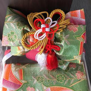 七五三 帯  レトロ(お宮参り用品)