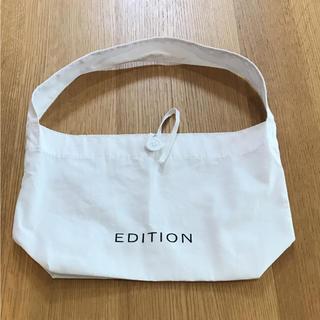 エディション(Edition)のエディション ショップバック(ショップ袋)