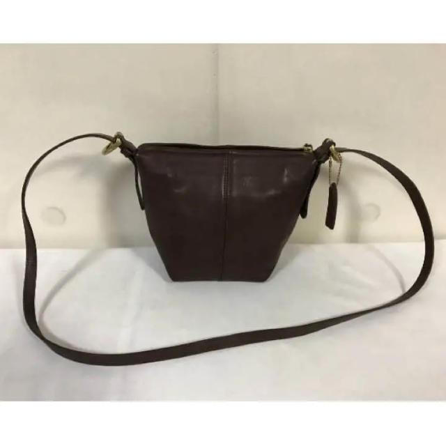 35049659e0b3 COACH - 極美品本物オールドコーチCOACH本革レザーミニショルダーバッグ ...