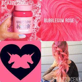ライムクライム(Lime Crime)のlimecrime Unicorn hair bubblegum Rose ♥(カラーリング剤)