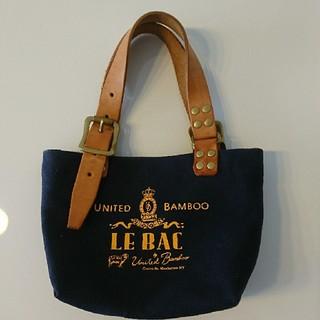 ユナイテッドバンブー(united bamboo)のUNITED BAMBOO/ミニキャンバスバッグ(トートバッグ)