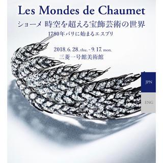 ショーメ(CHAUMET)のChaumet ショーメ 時空を超える宝飾芸術の世界 *チケット3枚(美術館/博物館)