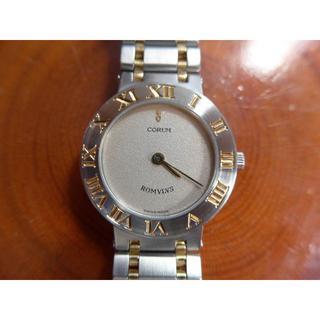 コルム(CORUM)の本物保障:コルム ロムロス  SS/K18YG レディース(腕時計)