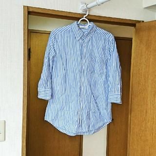 アズール(AZZURE)の【L】新品 AZULbasic 七分袖シャツ(Tシャツ(長袖/七分))