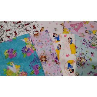 ガールズ♪ジュニア枕用カバー#プリンセス ソフィア 白雪姫 キティ バンビ (枕)
