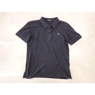 バーバリーブラックレーベル(BURBERRY BLACK LABEL)の★バーバリーブラックレーベル 半袖 ポロシャツ ブラック 1(ポロシャツ)