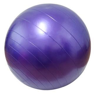 【未使用品】バランスボール 65cm【送料無料】 パープル(ヨガ)