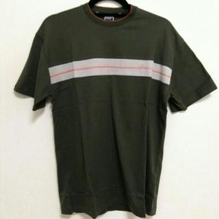 ピーピーエフエム(PPFM)のPPFM 半袖 Tシャツ カーキ フリーサイズ(シャツ)