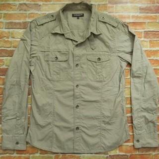 ハイダウェイ(HIDEAWAY)のHIDE AWAYS NICOLE 袖切替ジャケットシャツ(シャツ)