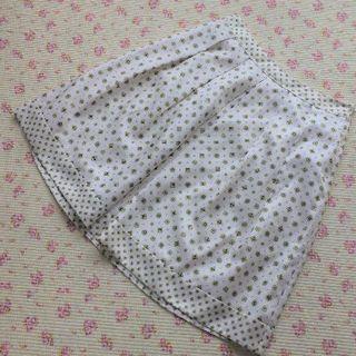 アマカ(AMACA)の【極美】 アマカ 三陽商会 スカート 40 W72 春夏 手洗い(ひざ丈スカート)