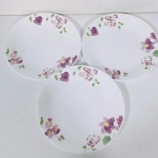 コレール(CORELLE)の新品未使用 新作柄 コレール  皿 3枚 バイオレットミスト(食器)