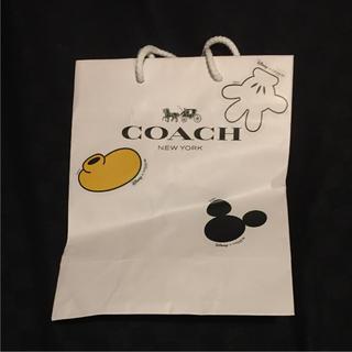 コーチ(COACH)のお値下げ!コーチ ディズニー コラボ ショッパー ミッキー 限定(ショップ袋)