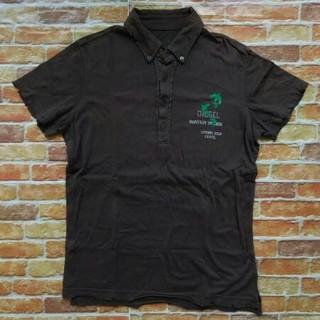フィフティーファイブディーエスエル(55DSL)の55DSL ディーゼル アンティーク調ダメージ加工薄手半袖カットソー(Tシャツ/カットソー(半袖/袖なし))