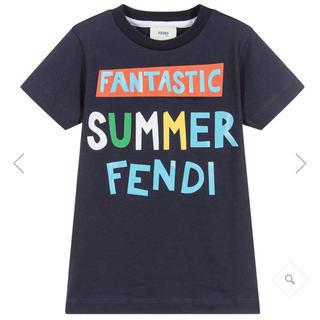 6月末までの出品 新品 2018SS 新作 Tシャツ フェンディ 9Y