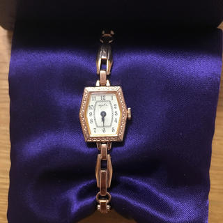 アガット(agete)のアガット 腕時計 ピンクゴールド(腕時計)