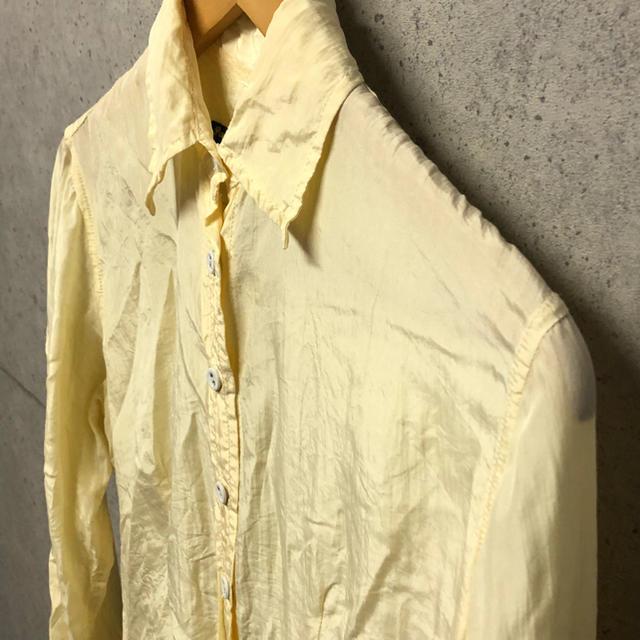 Paul Harnden(ポールハーデン)のクアレスマ様 ポールハーデン シルクシャツ レディース M ブラウス レディースのトップス(シャツ/ブラウス(長袖/七分))の商品写真