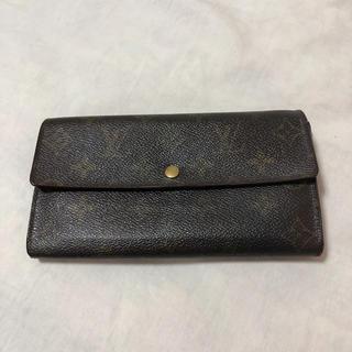 ルイヴィトン(LOUIS VUITTON)のルイ・ヴィトン 長財布 中古 財布 中古(財布)