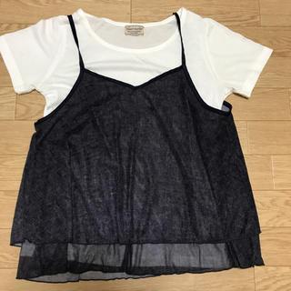 Tシャツとキャミ2点セット