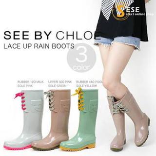 シーバイクロエ(SEE BY CHLOE)のSEE BY CHLOE レインブーツ(レインブーツ/長靴)