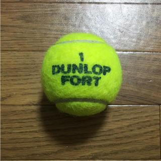 ダンロップ(DUNLOP)のダンロップテニスボール 1個 ①(ボール)
