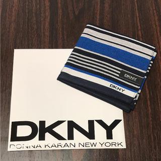 ダナキャランニューヨーク(DKNY)のダナキャランニューヨーク ハンカチ メンズ 綿100%(ハンカチ/ポケットチーフ)