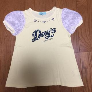リンジィ(Lindsay)のリンジィ  フレアーTシャツ 150(Tシャツ/カットソー)