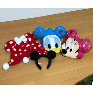 ディズニー(Disney)のディズニー@かぶりものセット(キャラクターグッズ)