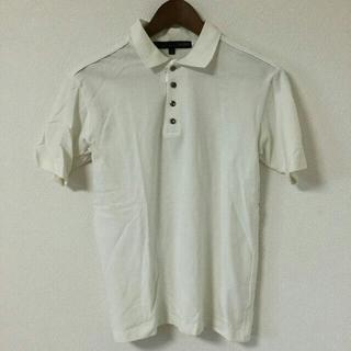 シュリセル(SCHLUSSEL)のSCHLUSSEL シュリセル ポロシャツ 白 ホワイト コットン(ポロシャツ)