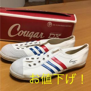 アサヒシューズ(アサヒシューズ)のお値下げ ヴィンテージ未使用 Asahi Cougar VOLLEY スニーカー(スニーカー)