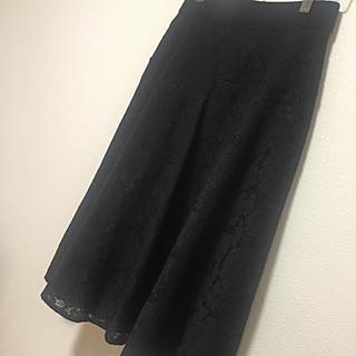 アネラリュクス(ANELALUX)の新品・未使用 ✴︎ ANELA LUX レーススカート(ひざ丈スカート)