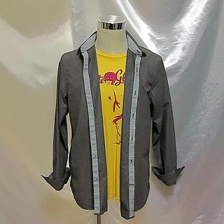 アメリカンイーグル(American Eagle)のお値下《インポート》【美品】アメリカン・イーグル☆ストライプシャツ(シャツ)