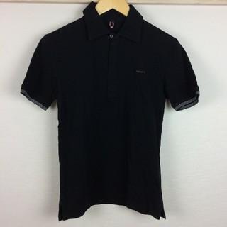 バーバリーブラックレーベル(BURBERRY BLACK LABEL)の極美品 BURBERRY BLACK LABEL 半袖ポロシャツ カットソー生地(ポロシャツ)