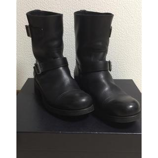 プラダ(PRADA)のPRADA プラダ メンズエンジニアブーツ 8 1/2 ブラック極美品 USED(ブーツ)