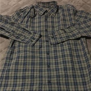 ジーユー(GU)のジーユー チェックシャツ(シャツ)