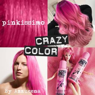 Crazy color hair dye ♡̷Pinkissimo ♡̷(カラーリング剤)