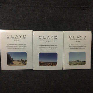 バーニーズニューヨーク(BARNEYS NEW YORK)のCLAYD クレイド 入浴剤 3個セット(入浴剤/バスソルト)