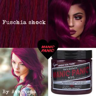 manic panic Hair color fuschia shock(カラーリング剤)
