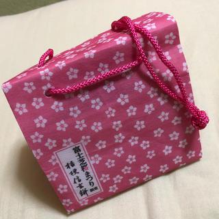 桔梗 信玄餅 富士芝桜まつり 限定 袋(ショップ袋)
