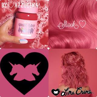 ライムクライム(Lime Crime)のLimecrime Unicorn Hair Shook ライムクライム ♥(カラーリング剤)
