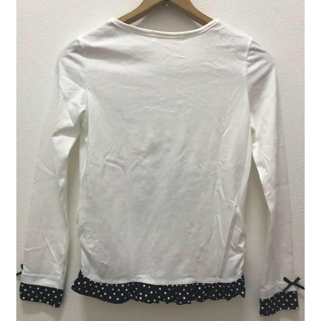 しまむら(シマムラ)のしまむら☆160長袖カットソー キッズ/ベビー/マタニティのキッズ服 女の子用(90cm~)(Tシャツ/カットソー)の商品写真
