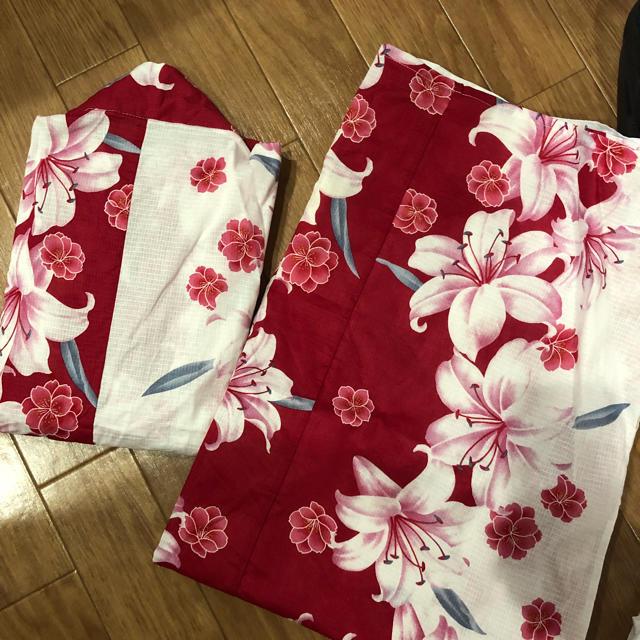 しまむら(シマムラ)のセパレート浴衣 セット レディースの水着/浴衣(浴衣)の商品写真