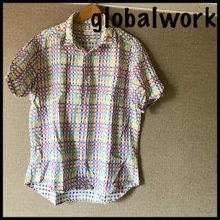 グローバルワーク(GLOBAL WORK)のglobal workチェックシャツグローバルワーク(シャツ)